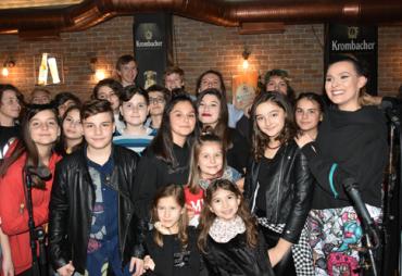 """Новогодишниот концерт на """"Пијанофорте"""" за учениците од Одделот за популарна музика"""