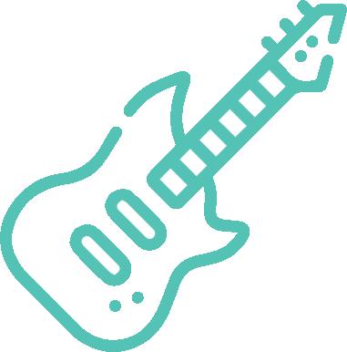 Целогодишна програма по електрична гитара за деца на возраст од 5-6 години